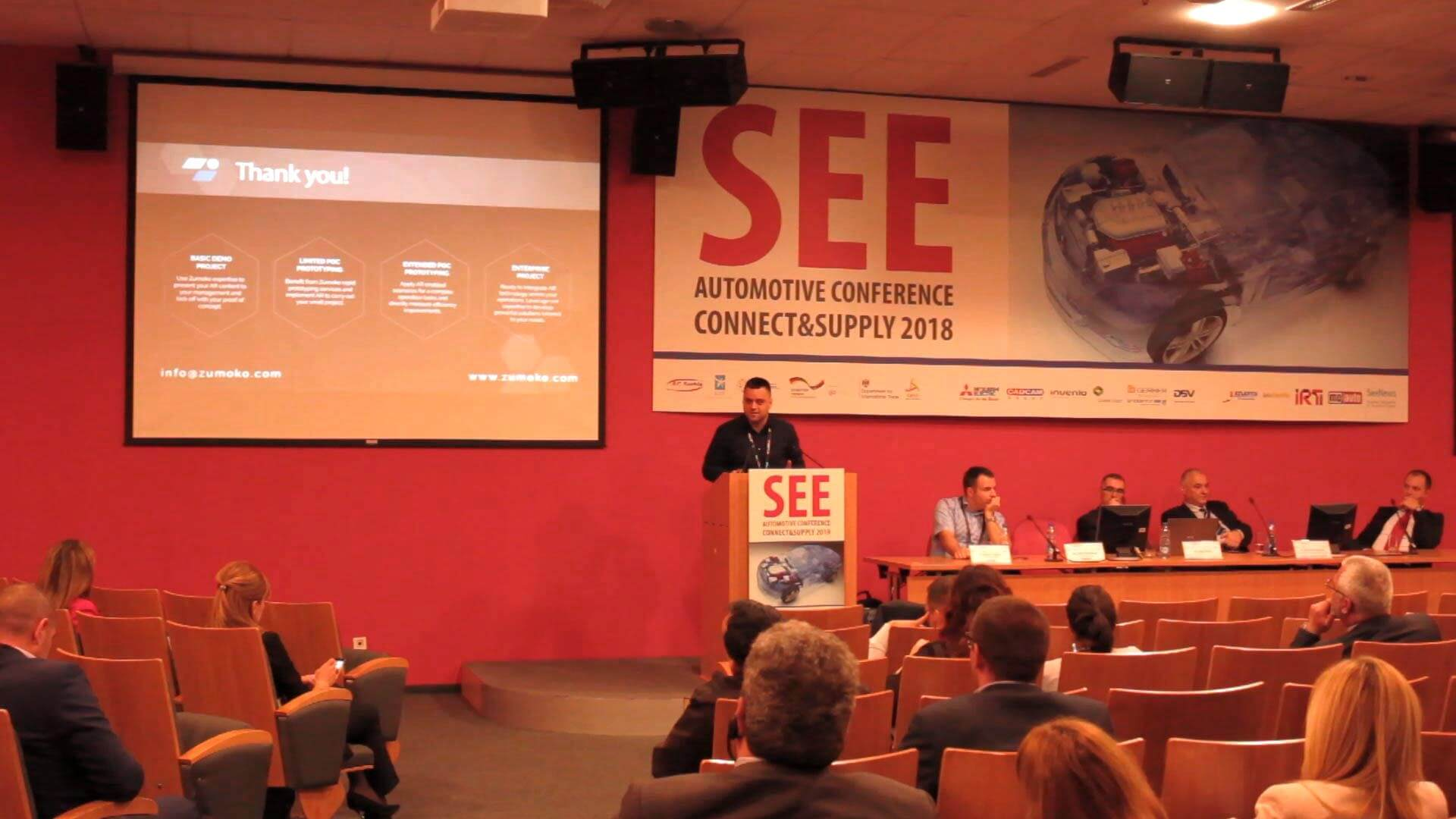 Zumoko at the SEE Automotive - Conference Presentation