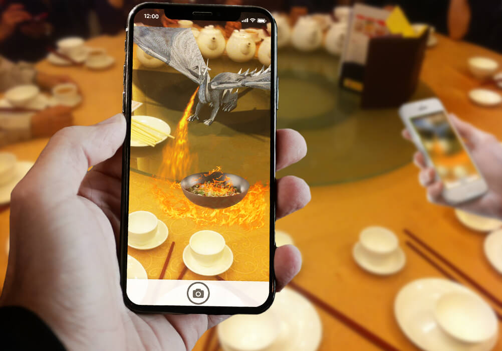AR Restaurant - augmented reality travel apps