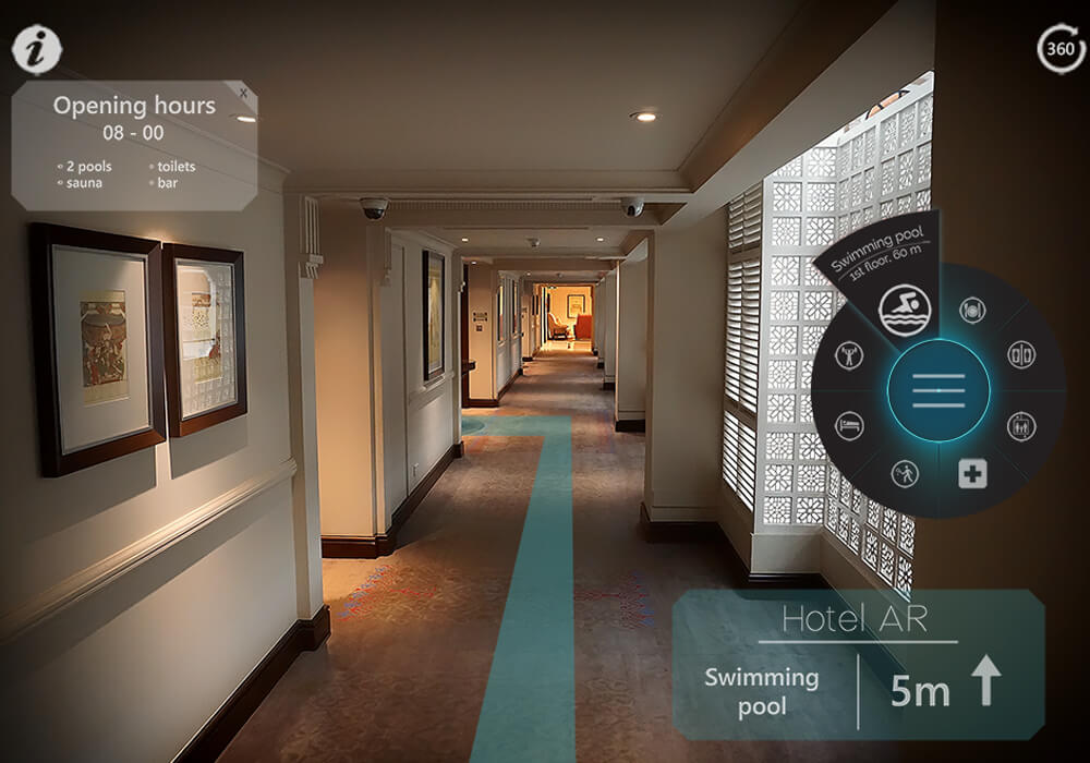 Hotel Hospitality -  augmented reality travel apps
