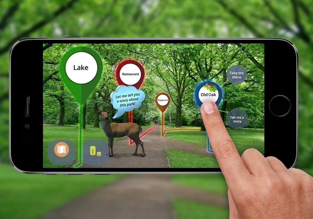 AR Storytelling Guide - augmented reality travel apps