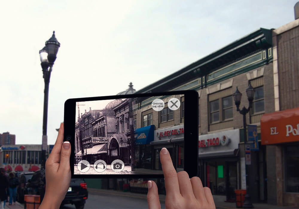 AR storytelling - augmented reality travel apps