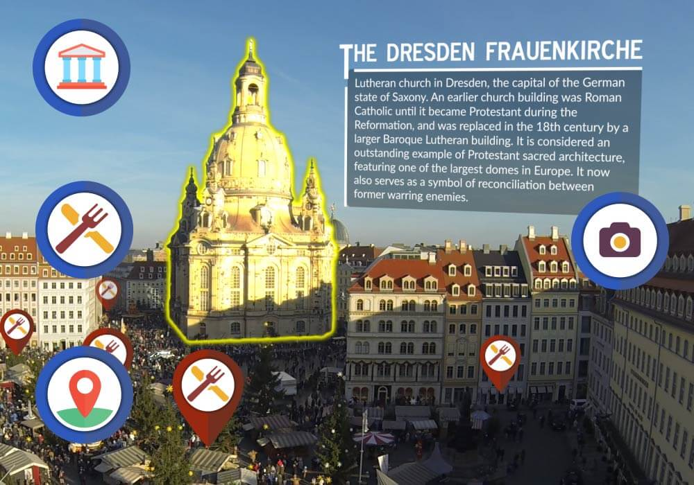 Dresden - augmented reality travel apps