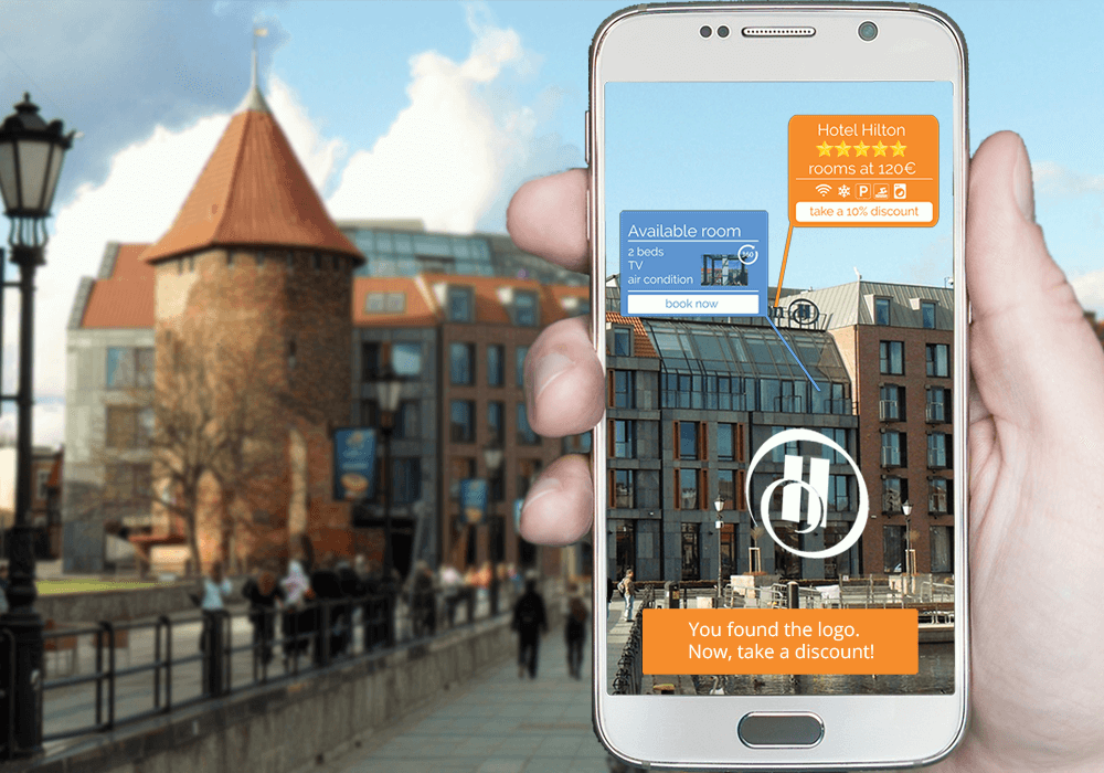 Hotel Marketing -  augmented reality travel apps