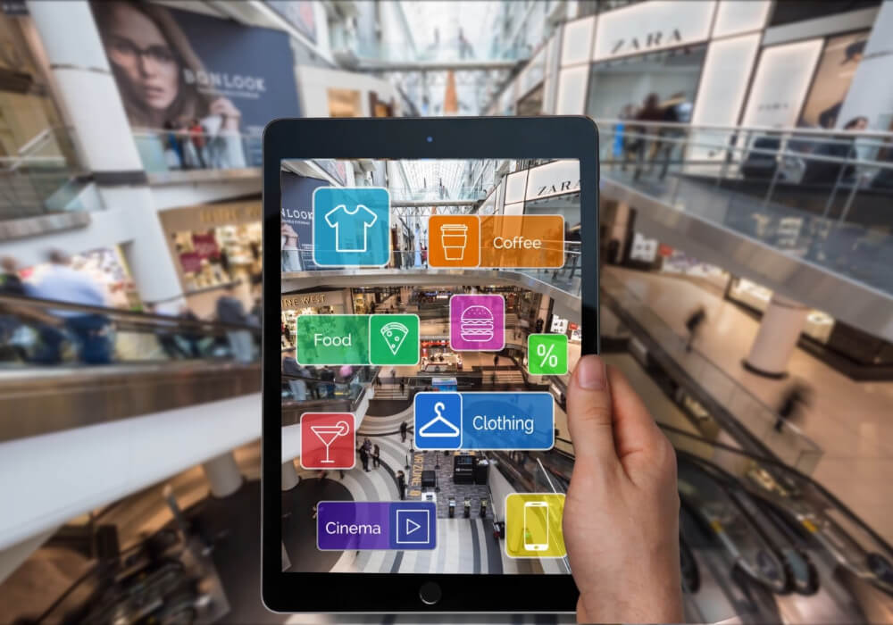 Augmented reality marketing campaigns Shopping