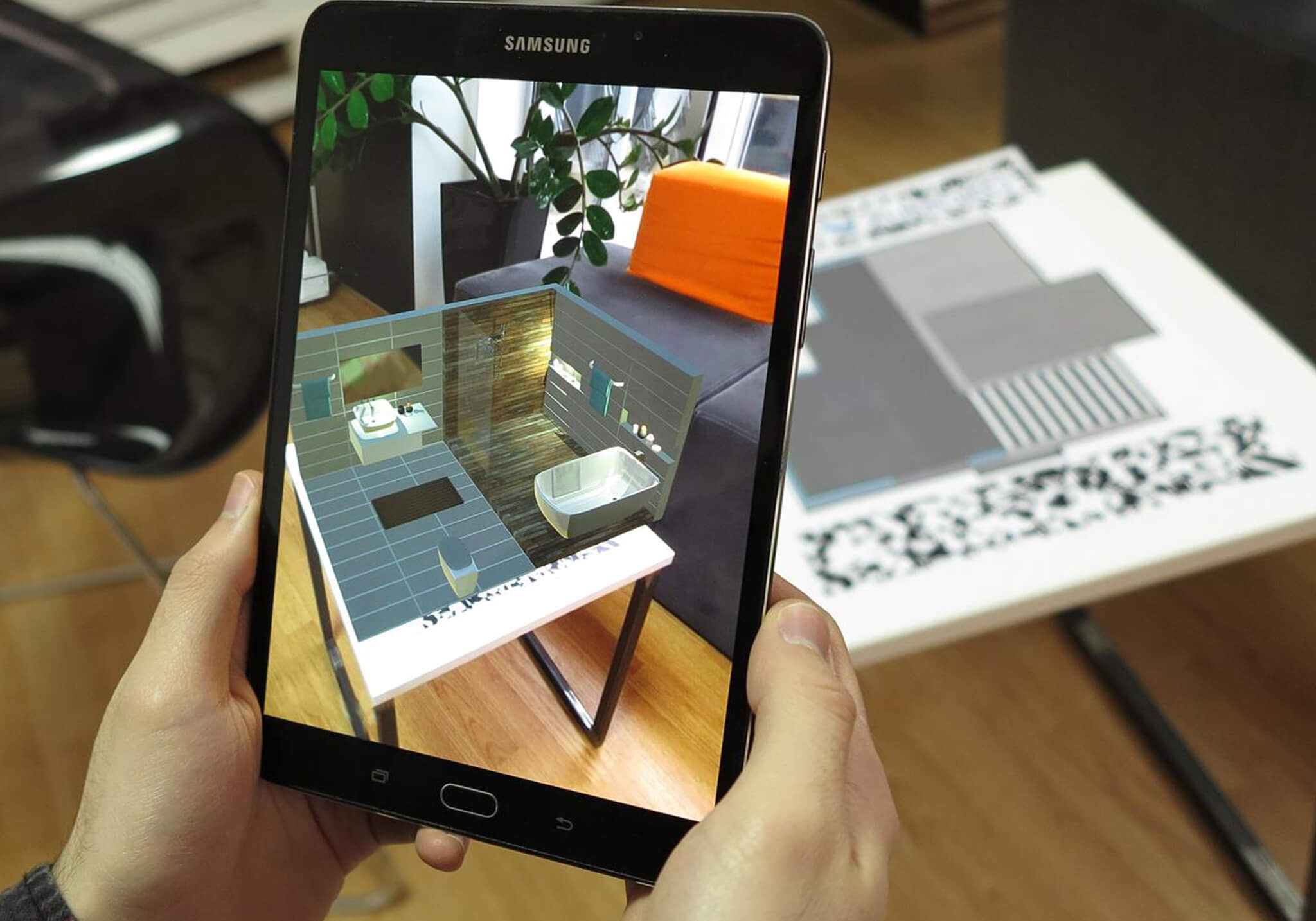 Augmented reality marketing campaigns architecture_interior